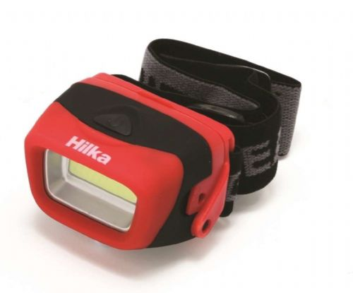 Hilka 3w COB 120 Lumens Headlamp with batteries